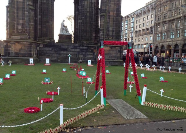 Edimburgo: Remembrance Day