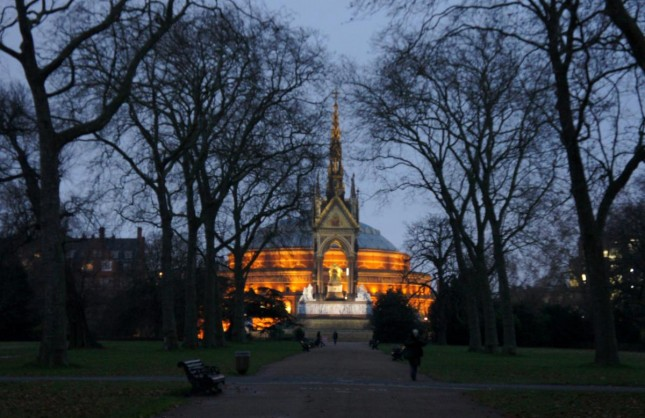 Londres – Christmas Festival no Royal Albert Hall