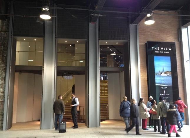 Uma visita ao The Shard, o edifício mais alto de Londres