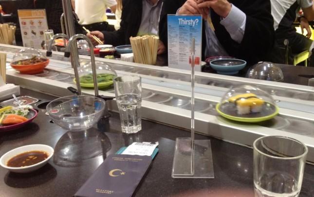 Dica de Restaurante em Londres: Yo! Sushi