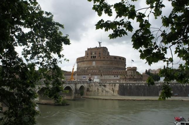 Castelo de Santo Ângelo, um dos melhores lugares pra ver Roma e o Vaticano do alto