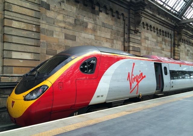 Como ir de Londres a Glasgow de Trem