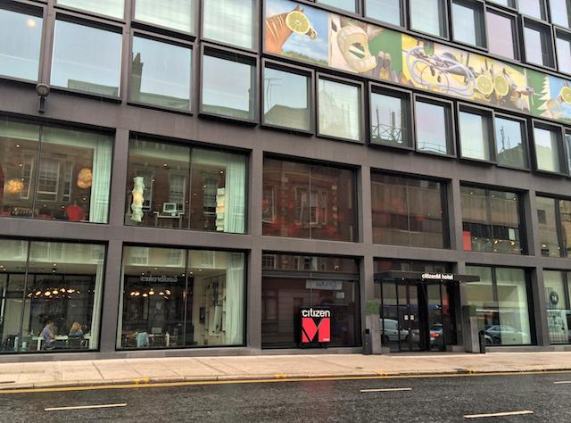 Dica de Hotel em Glasgow: CitizenM Hotel