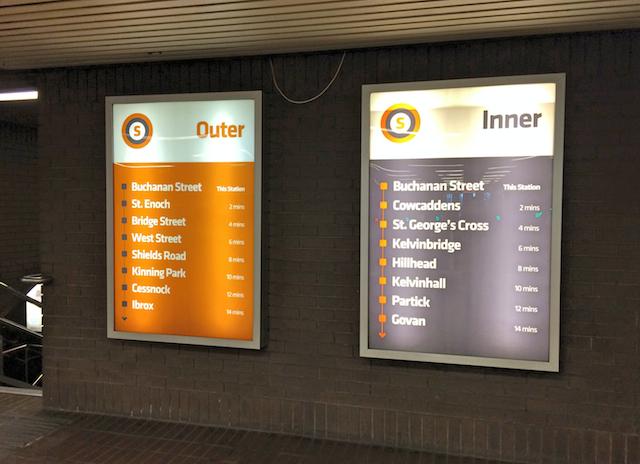 Como andar no metro de Glasgow