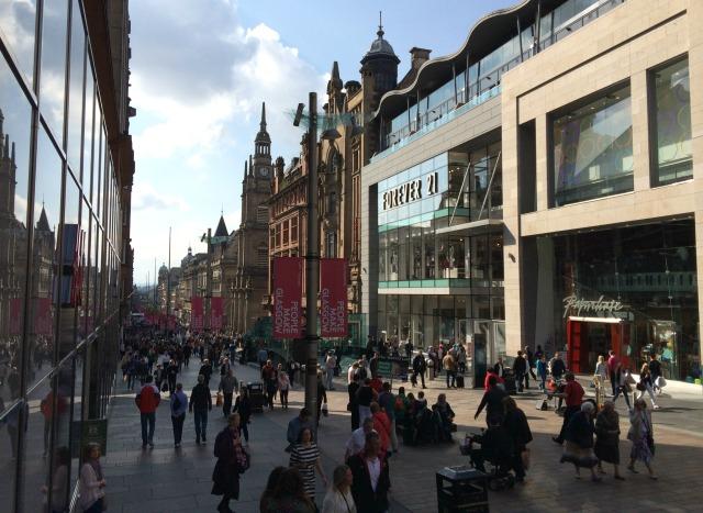 Glasgow: O Segundo Maior Centro de Compras do Reino Unido
