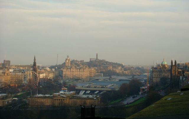 6 lugares para fotografar Edimburgo do alto