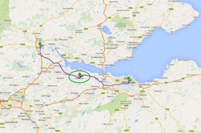 Escócia: Um dia no vilarejo de Linlithgow