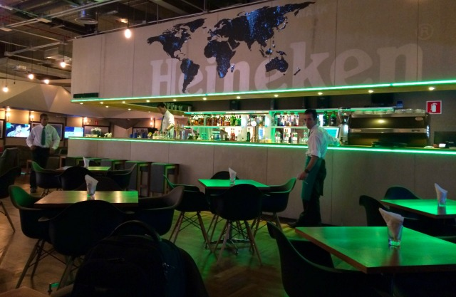 Heineken Living no Terminal 3 do Aeroporto de Guarulhos