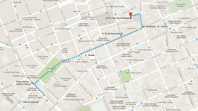 Roteiro de 2 dias em Curitiba (com mapa)