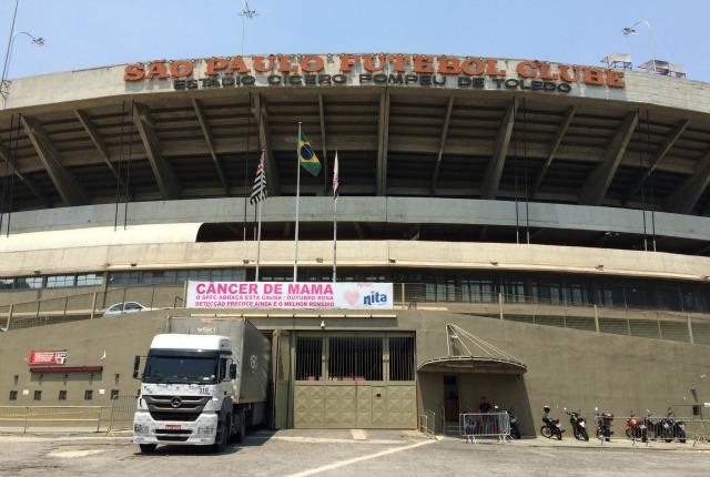 Morumbi Tour: Um tour guiado pelo estádio do São Paulo Futebol Clube