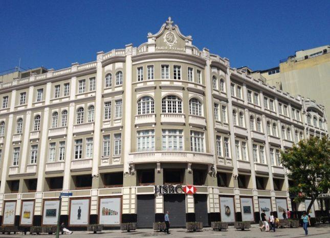 Curitiba: Calçadão da Rua XV de Novembro