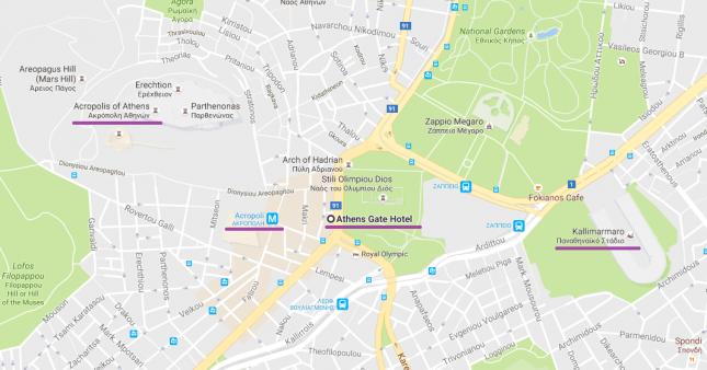 Dica de Hotel em Atenas: The Athens Gate Hotel