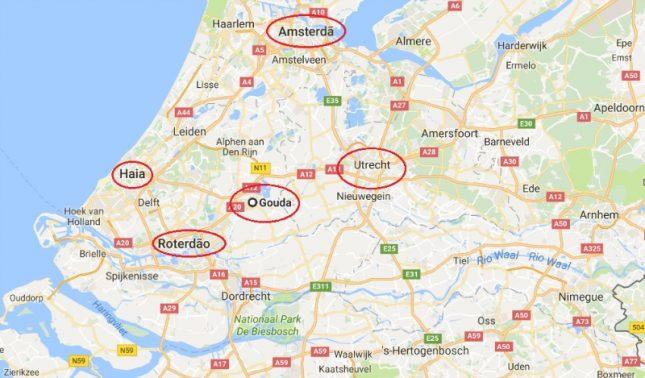 Holanda: Um dia na terra do queijo Gouda e do Stroopwafel