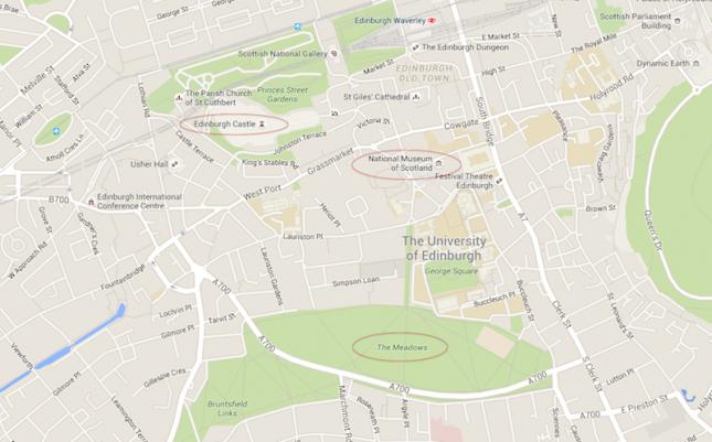 O lado B de Edimburgo: Quartermile