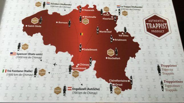 Bélgica: Roteiro de carro pelas principais cervejarias na região da Valônia