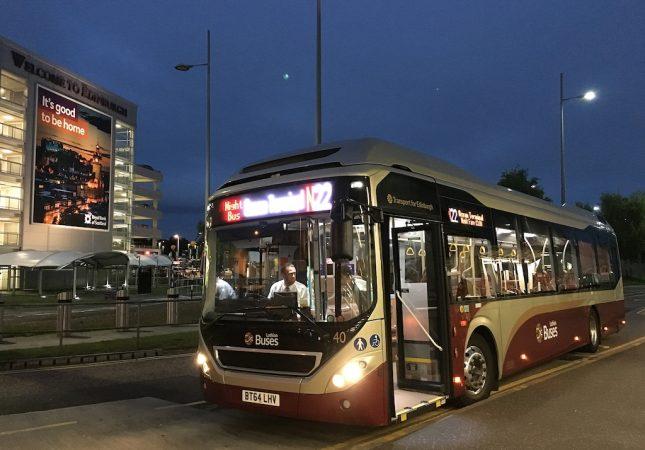 Edimburgo: Night Bus N22 – Como ir do Centro de Edimburgo ao Aeroporto de madrugada