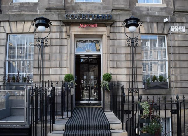 Hospedagem em Edimburgo: Courtyard by Marriott Edinburgh Hotel