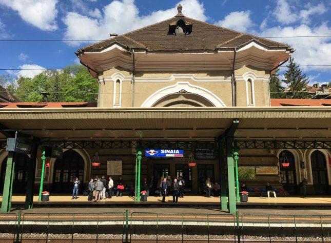 Como andar de trem na Romênia