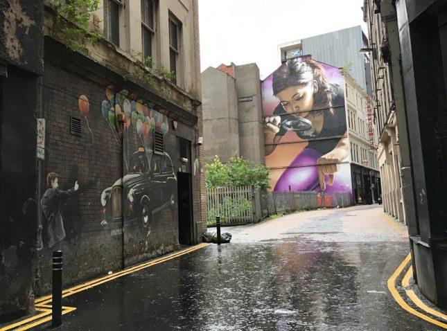 Escócia: Glasgow Mural Trail