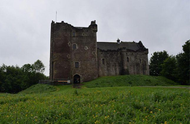 Escócia: Doune Castle, o Castelo Leoch em Outlander