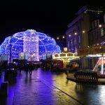 Edimburgo: Mercadinho de Natal na George Street / St Andrew Square