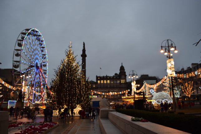 Glasgow: Mercadinhos de Natal