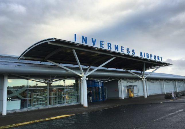 Escócia: Aeroporto de Inverness e Como ir do aeroporto ao centro da cidade
