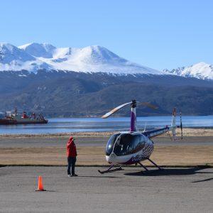 Ushuaia: Sobrevoando a Patagônia Argentina de Helicóptero
