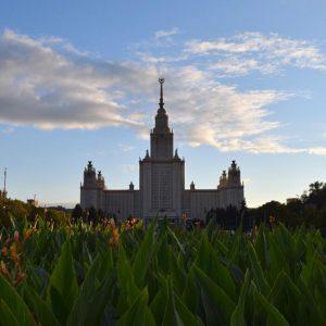 Rússia: Vorobyovy Gory, mirante e a Universidade de Moscou