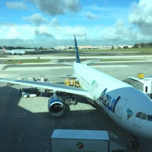 Voando na Classe Executiva da Azul para Lisboa