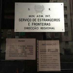 Vida em Portugal: Agendamento no SEF