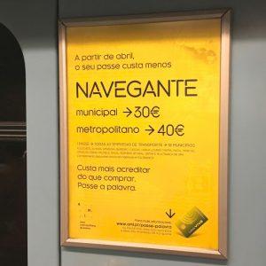 Vida em Portugal: Passes Navegante em Lisboa