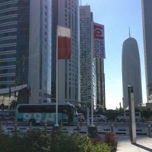 Catar / Qatar: O novíssimo Metro de Doha